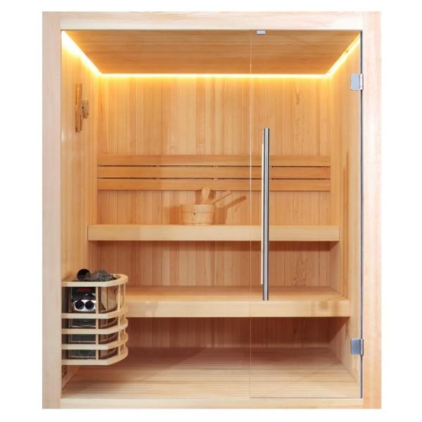 AWT Pinienholz-Sauna E1802