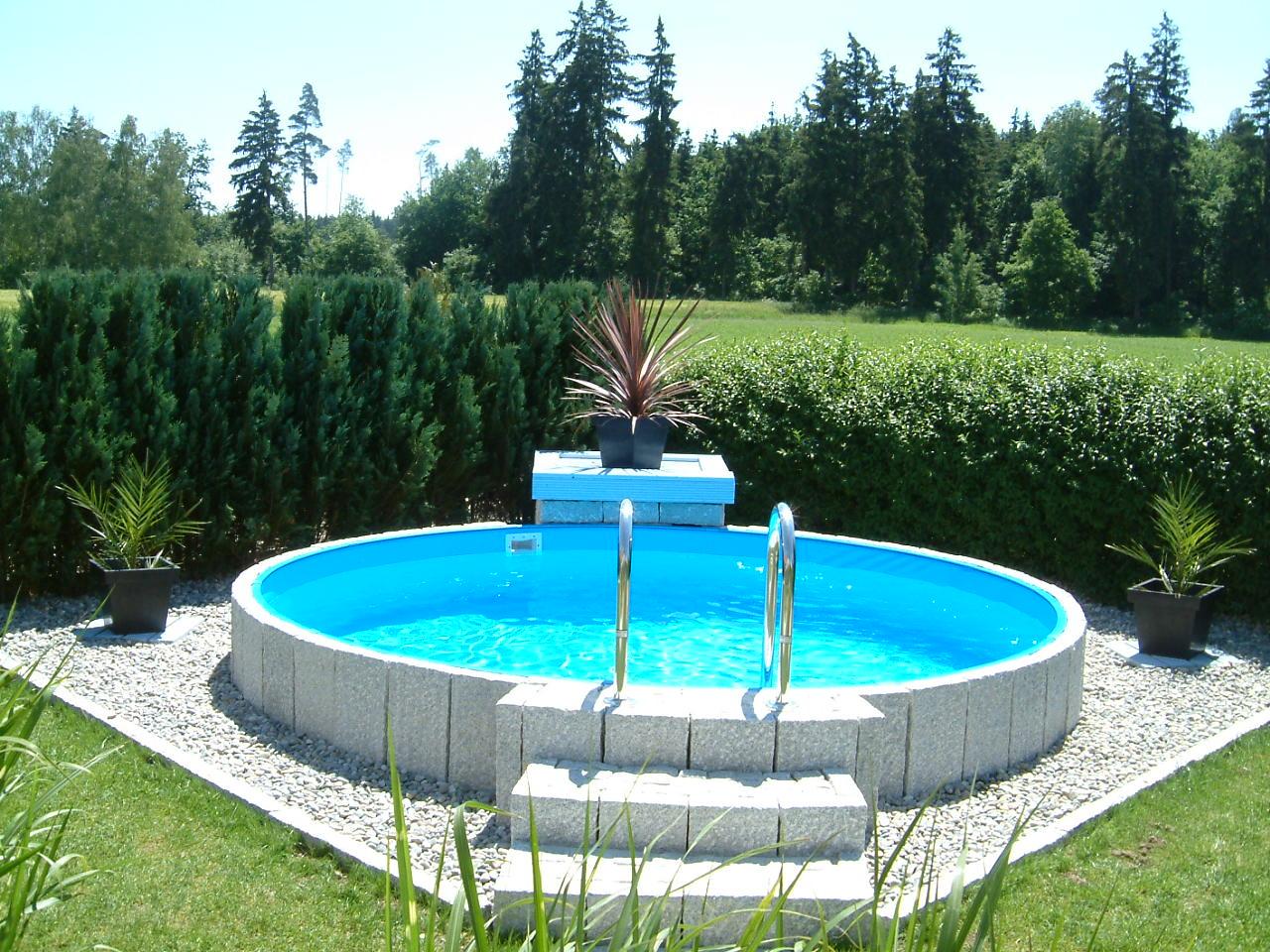 Stahlwandpool Pool Heizung Freizeit