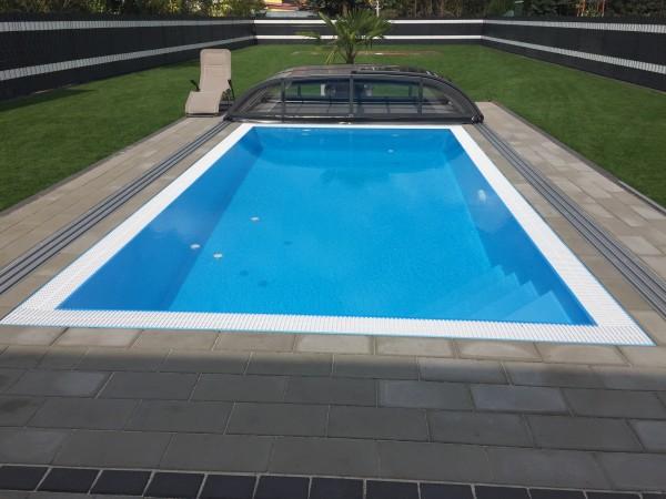 Überlauf Schwimmbecken von Albixon