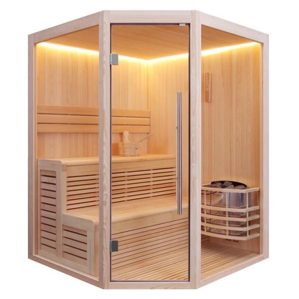 AWT Pinienholz-Sauna E1801